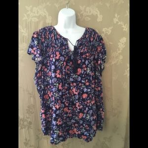 Faded Glory Size 4X Top
